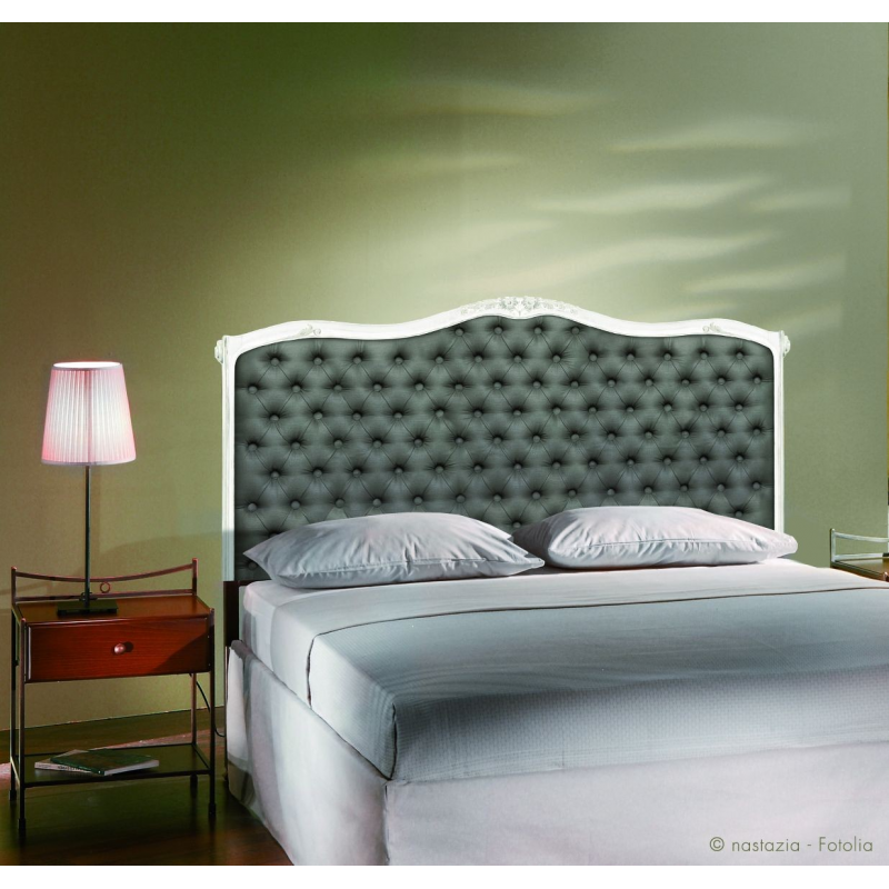 sticker t te de lit ambiance capitonn e en trompe l 39 oeil france avenue. Black Bedroom Furniture Sets. Home Design Ideas