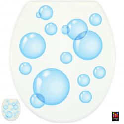 """Sticker pour abattant WC """"Bulles de savon"""""""