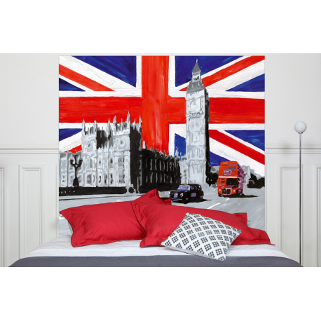 t te de lit london fabricant fran ais mademoiselle tiss. Black Bedroom Furniture Sets. Home Design Ideas