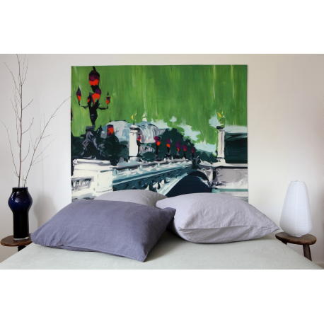t te de lit pont alexandre iii france avenue. Black Bedroom Furniture Sets. Home Design Ideas