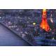 """Panneau décoratif """"PARIS A TOKYO"""""""