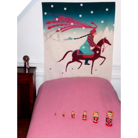 t te de lit anastasyia fabricant fran ais mademoiselle tiss. Black Bedroom Furniture Sets. Home Design Ideas