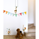 Sticker enfant - Singes accrobates