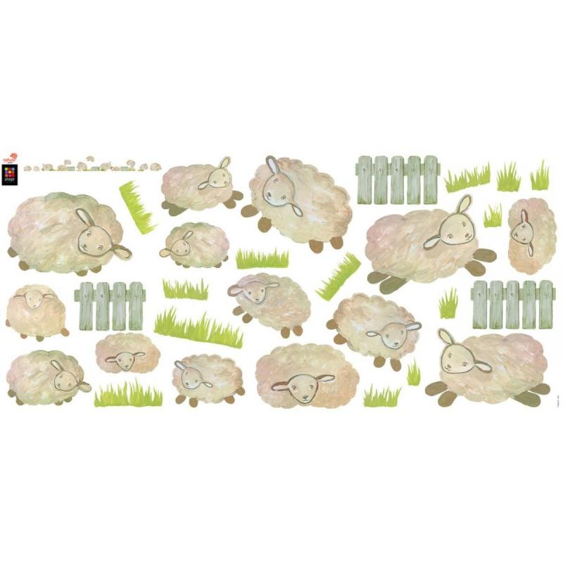 stickers 100 made in france pour b b mod le saute mouton plage france avenue. Black Bedroom Furniture Sets. Home Design Ideas