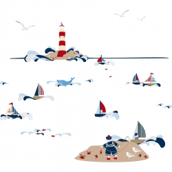 Stickers enfant marins