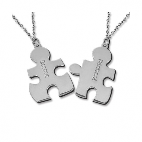Colliers Duo PUZZLE personnalisable