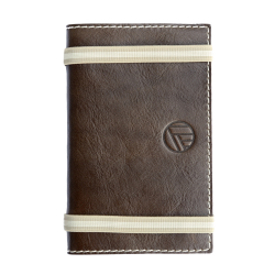Carnet de notes en cuir pleine fleur made in France Faugier