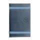 Carnet de notes en cuir pleine fleur made in France Faugier Bleu