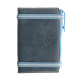Carnet de notes en cuir pleine fleur Bleu made in France Faugier