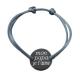 Bracelet Homme Médaille à deux trous Java à personnaliser