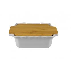 Plat carré 30 cm gamme Cook&Stock 3 couleurs
