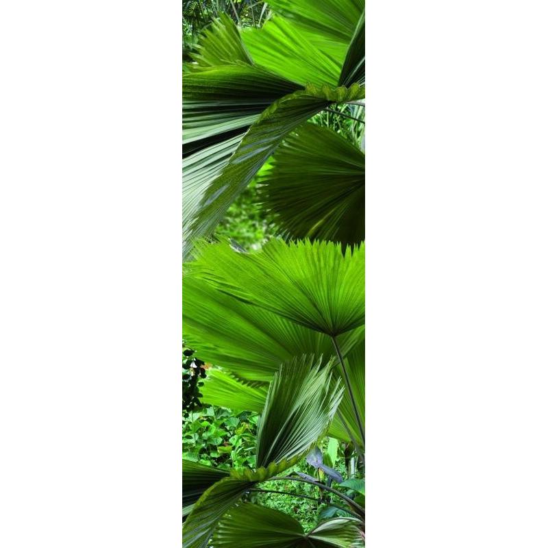 sticker pour r frig rateur xl mod le tropical plage achetez made in france sur france avenue. Black Bedroom Furniture Sets. Home Design Ideas