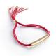 """Bracelet femme """"Rainbow Jonc"""" plaqué or àpersonnaliser"""