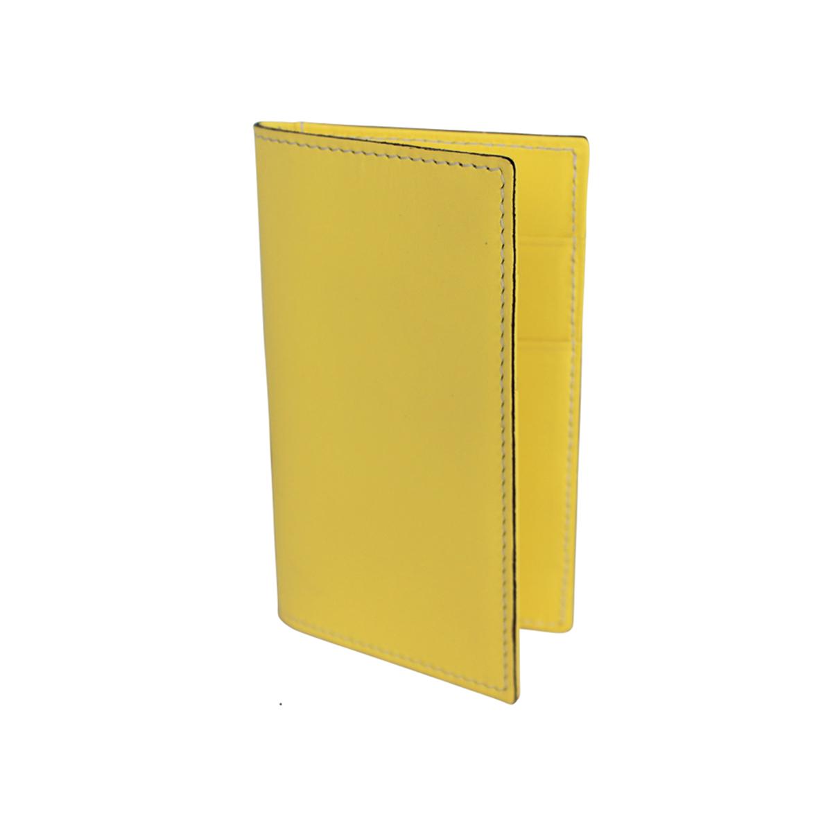 porte cartes en cuir homme jaune le site du cuir. Black Bedroom Furniture Sets. Home Design Ideas