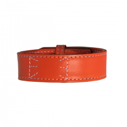 Bracelet en cuir ORANGE Homme Hurbane