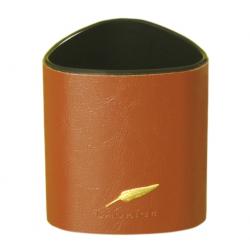 Pot à crayon en cuir gamme Windsor personnalisable