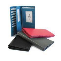 Portefeuille multi documents en cuir personnalisé