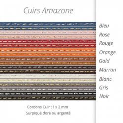 Cordons pour bracelet Amazone