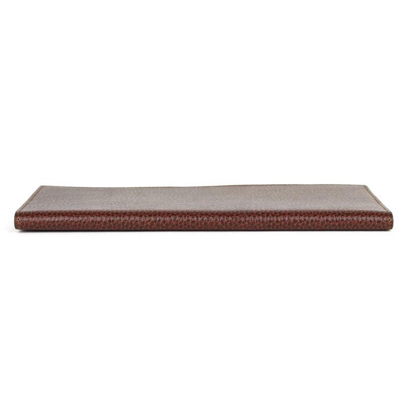 Porte ch quier en cuir long gamme classique france avenue - Porte chequier long ...