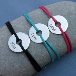 Bracelet Isabella Médaille 20 mm à personnaliser