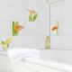 Stickers carrelage mural Poissons d'eau douce
