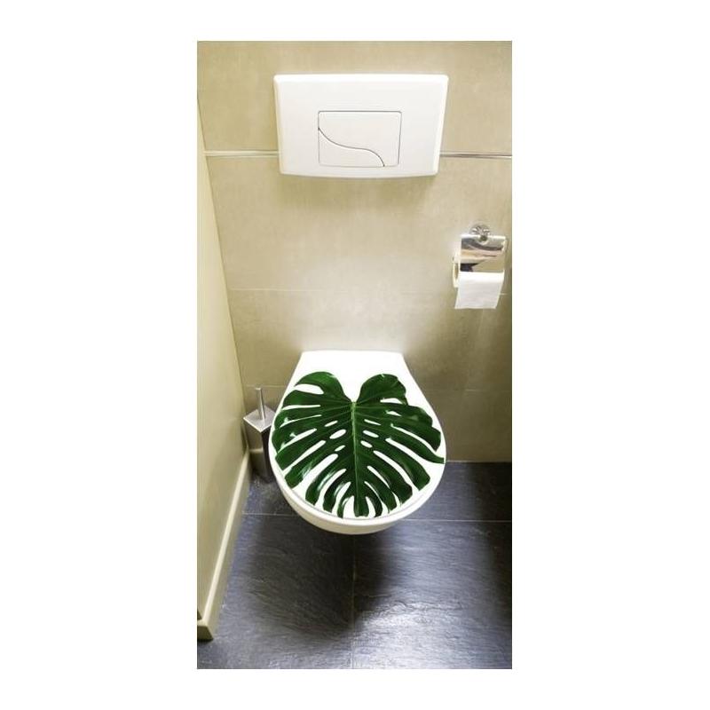 Stickers pour porte de wc bureau