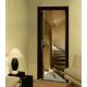 Sticker de portes trompe l'oeil Escalier à vis