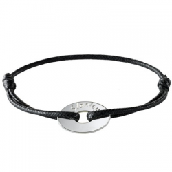 Bracelet Le Dandy en argent à personnaliser