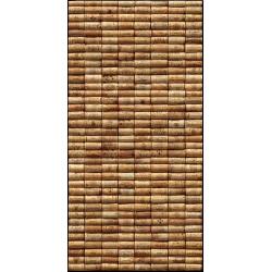 """Sticker Mur d'Image """"Mur de bouchons - 2"""""""