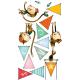 Sticker enfant - Singes accrobates