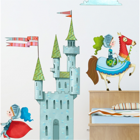 Sticker enfant Le Chateau
