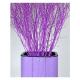 """Pot de fleurs d'intérieur droit """"Lavande cuve noire 95 cm"""""""