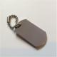 Porte-clé Plaque militaire en acier