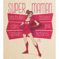 Tablier de cuisine femme Super Maman