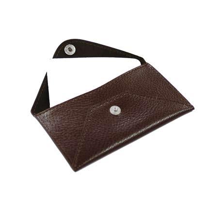 Etui Enveloppe en cuir moyen format