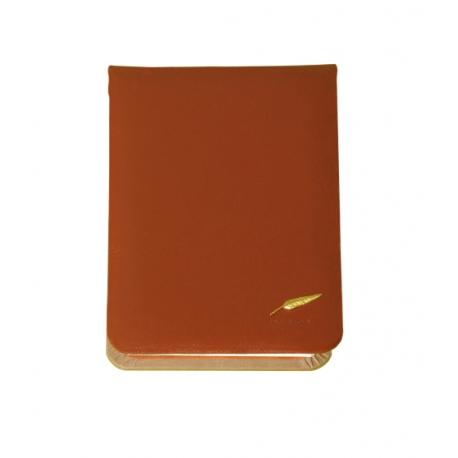 Bloc note de bureau en cuir Windsor personnalisable
