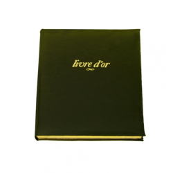 Grand Livre d'Or en cuir Windsor personnalisable