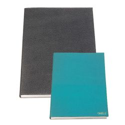 Carnet de notes rechargeable grand format en cuir personnalisable