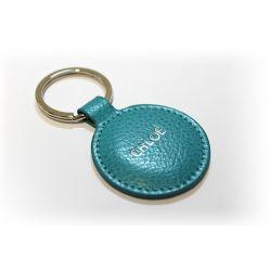 Porte-clés Rond personnalisé en cuir