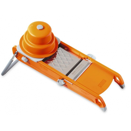 Mandoline Swing vert ou orange avec pieds antidérapants