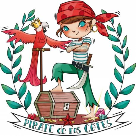 "Sticker ""Pirate Boy"""
