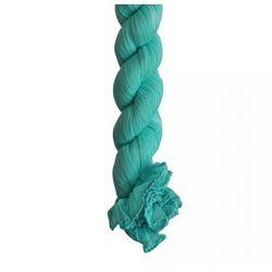 Foulard, Cheche froissé en coton turquoise