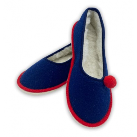 Ballerine French Cancan 100% Laine Made in France