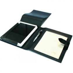 Conférencier cuir format A5 et Ipad personnalisable