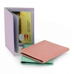 Porte Cartes en cuir personnalisable - 12 volets Made in france