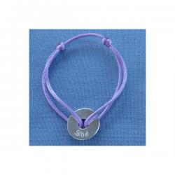 Bracelet Enfant Médaille 15 mm Little Isabella à personnaliser