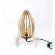 Lampe design personnalisable en bois à poser ARIANE - Fabrication Made in France