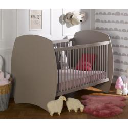 Lit bébé évolutif Médé Fabrication Made in France - Blanc ou lin - Bois éco-responsable