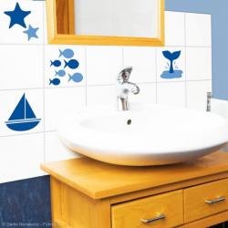 Stickers carrelage mural Au bord de la Mer